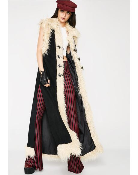 Whirlwind Sleeveless Duster