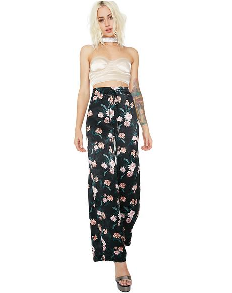 Miss Daisy Floral Pants