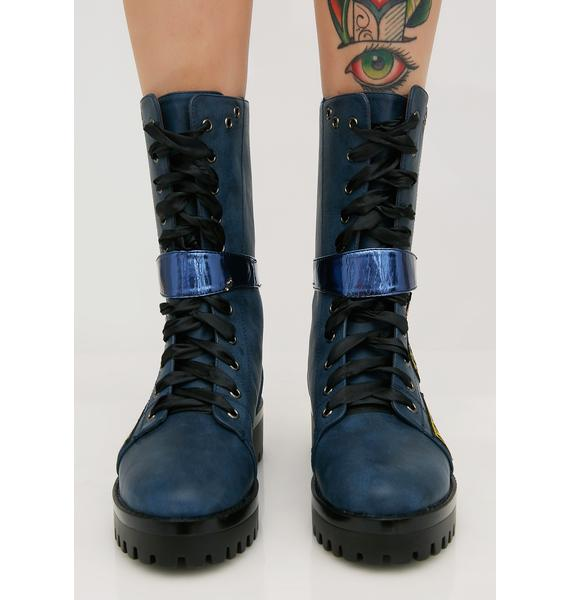 Well Earned Combat Boots