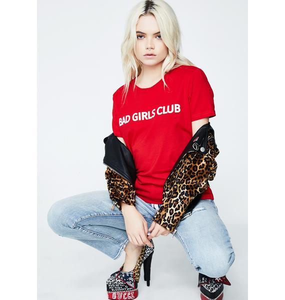 Tiger Mist Bad Girls Club Tee