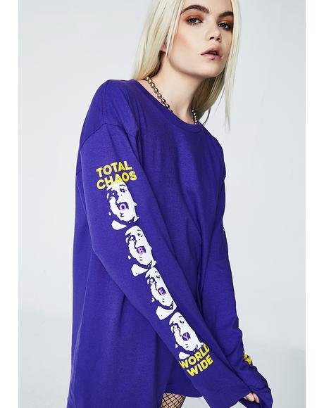 Total Chaos Long Sleeve Tee