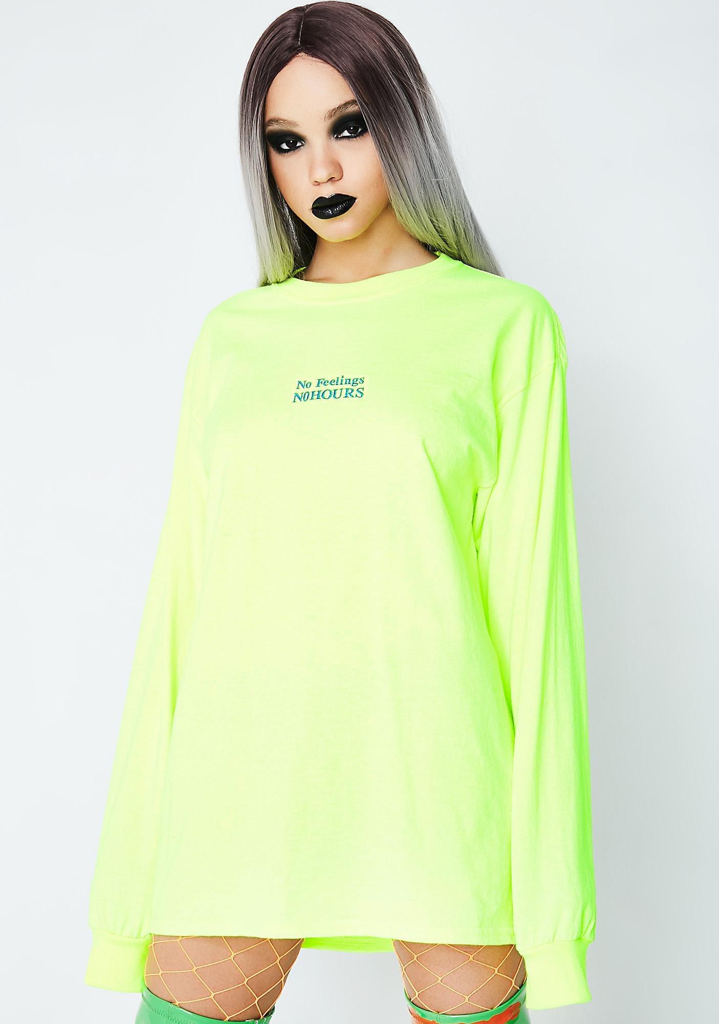 No Hours Gone Long Sleeve Tee