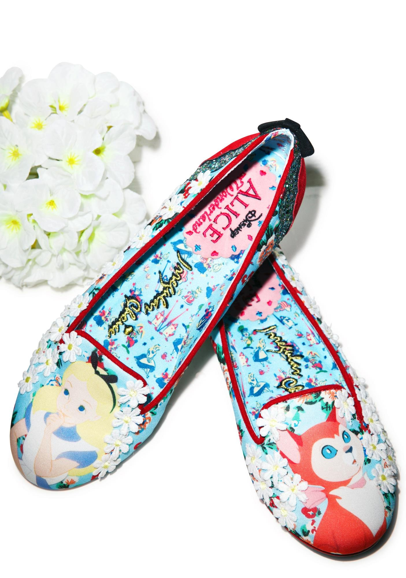 Irregular Choice Alice In Wonderland Which Way Size US 7 Limited Edition