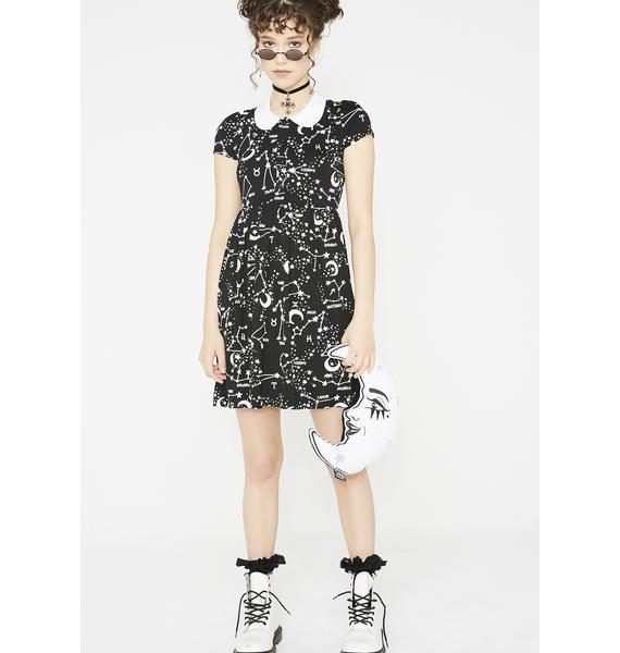 Killstar Milky Way Babydoll Dress
