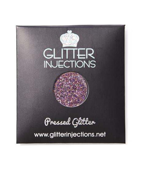 Psychedelic Heart Pressed Glitter