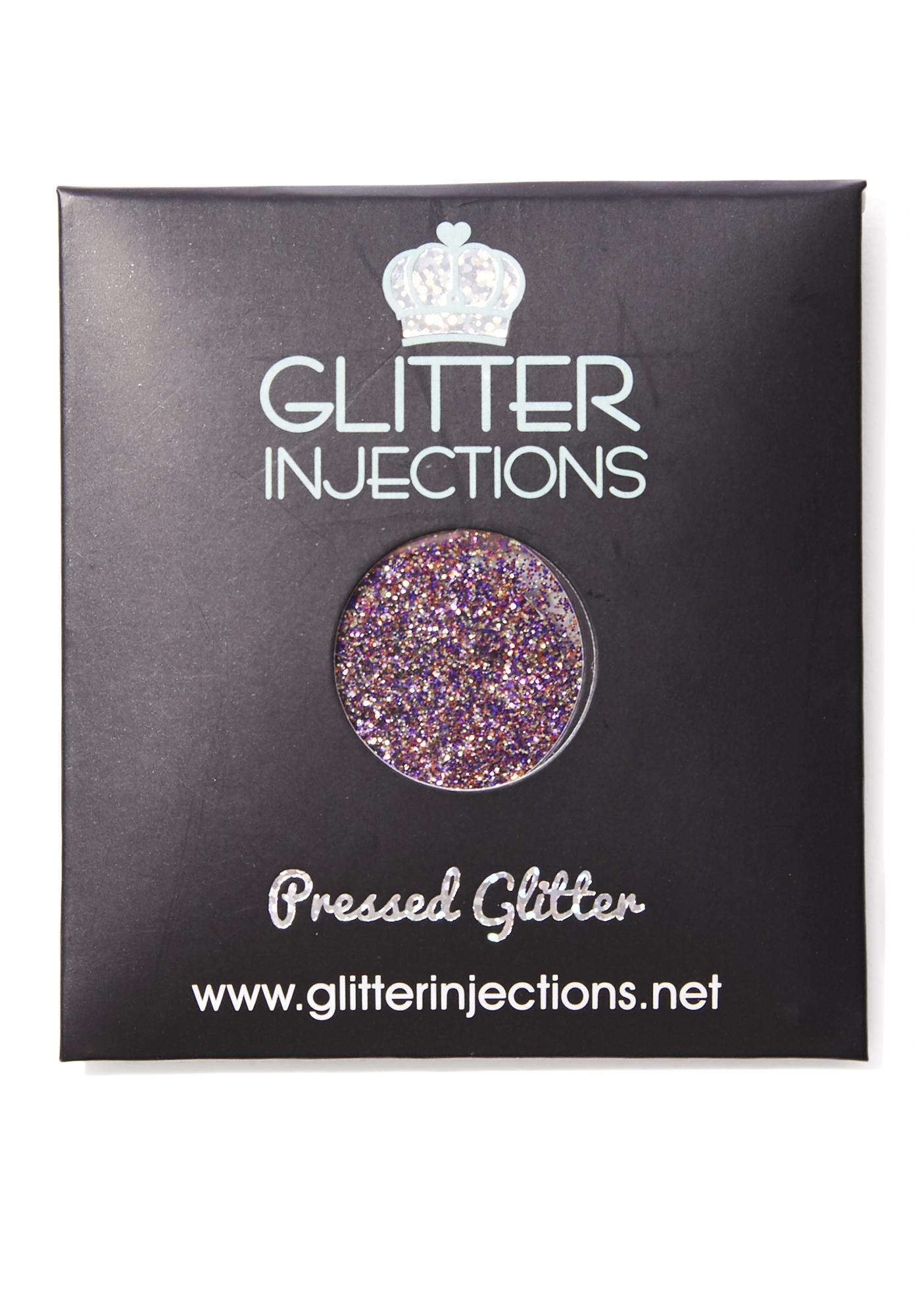 Glitter Injections Psychedelic Heart Pressed Glitter