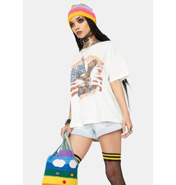 Mink Pink Forever Free Graphic Tee