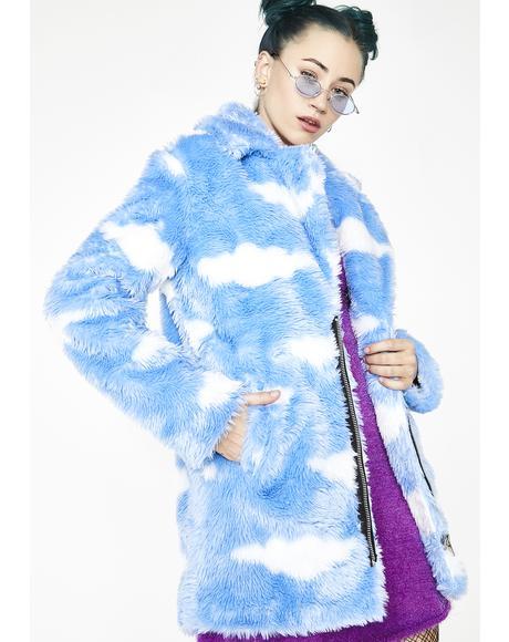 Daydream Delirium Faux Fur Jacket