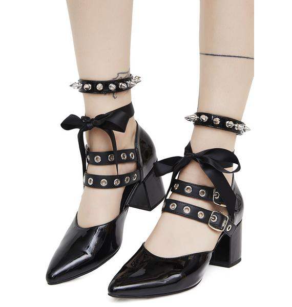 Current Mood Adeline Spiked Heels