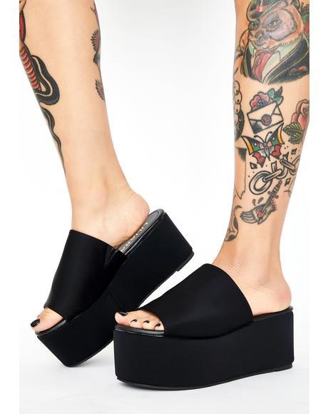 So Called Life Platform Sandals