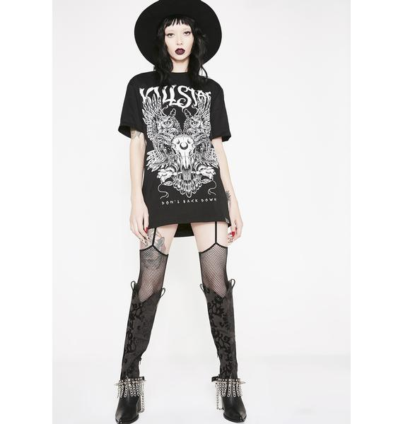 Killstar Don't Back Down T-Shirt