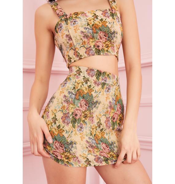 Sugar Thrillz Le Grand Amour Mini Skirt