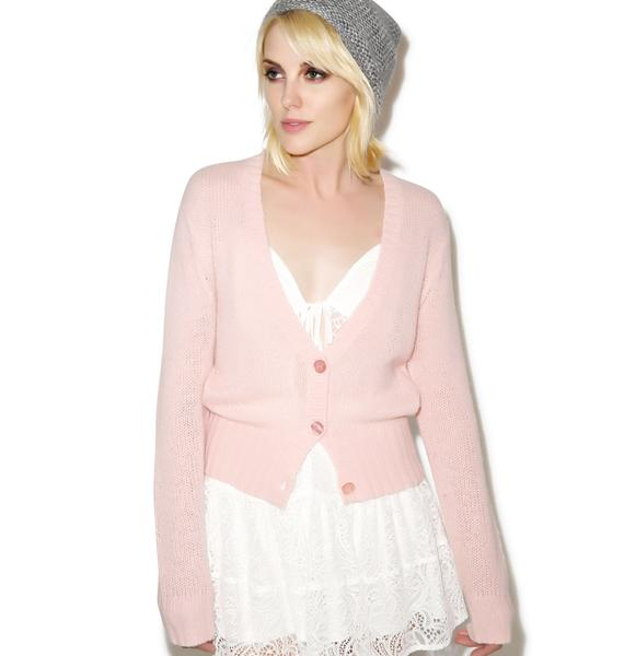 Wildfox Couture Wildfox Ballet High Waist Cardigan