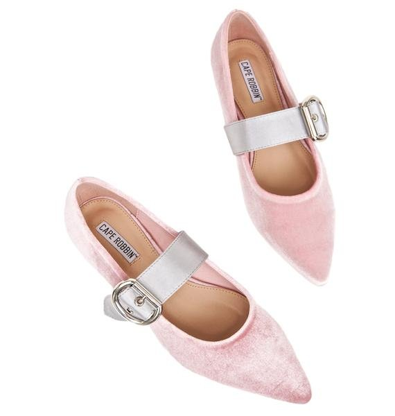 Yer On Pointe Ballet Flats