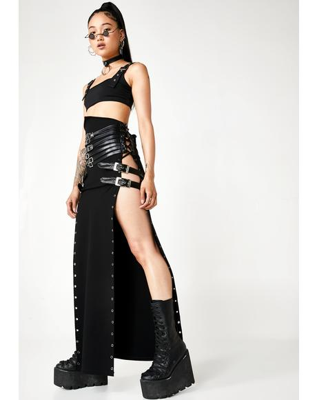 Wild Warrior Maxi Skirt