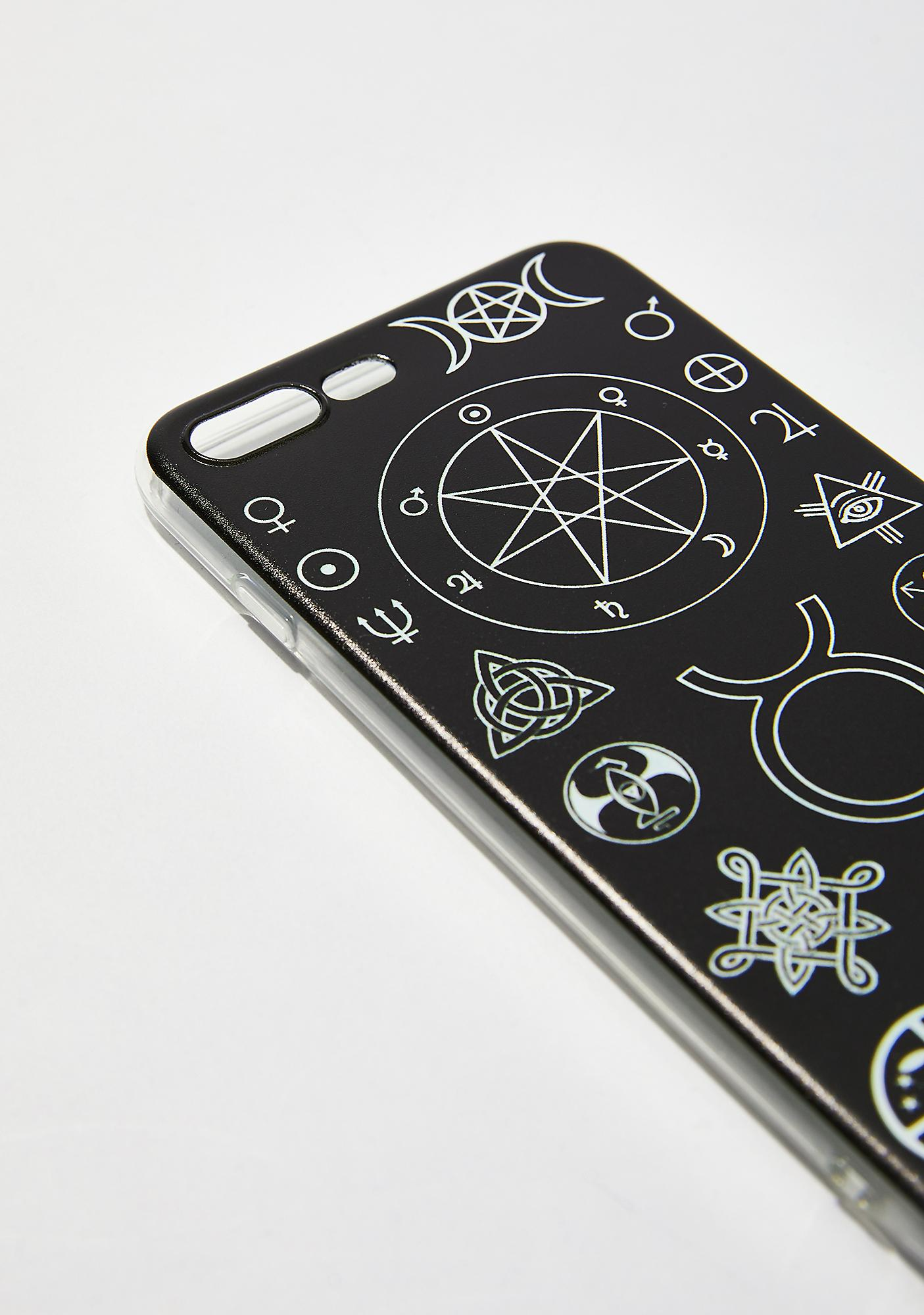 Witch Worldwide Witch Symbols iPhone Case