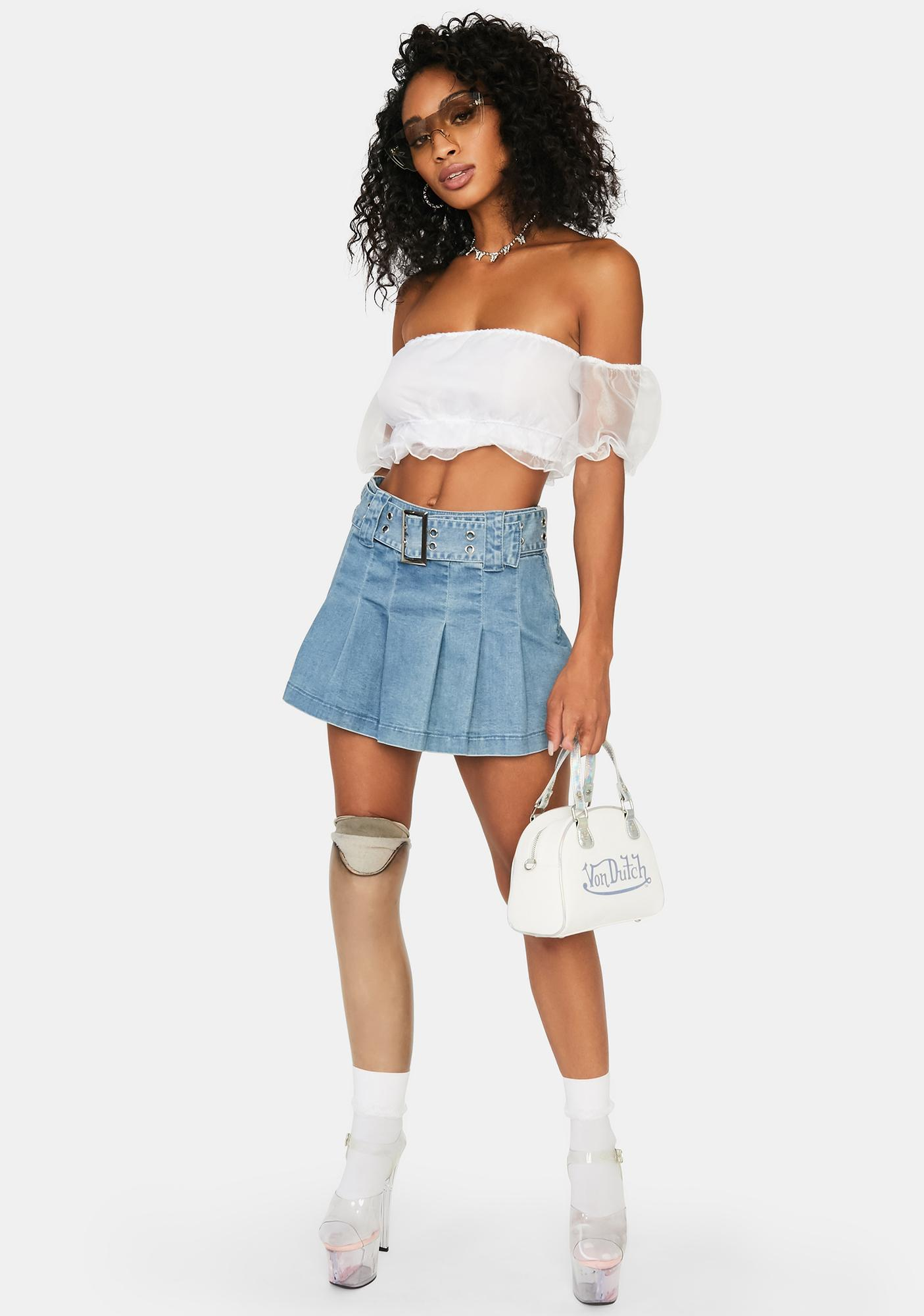 Pure Romance Crop Top