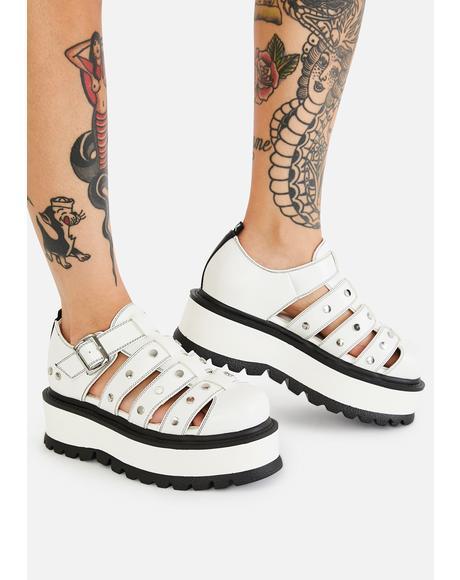 Relay Platform Sandals