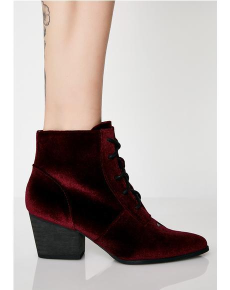 Velvet Aura Boots