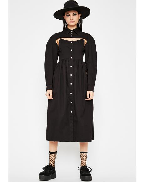 Reigning Supreme Midi Dress