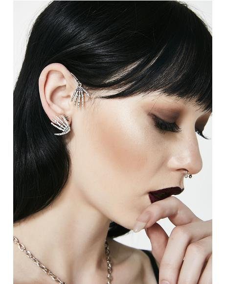 Skeleton Ear Cuff