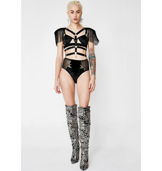 Rhythm Of The Night Fringe Harness