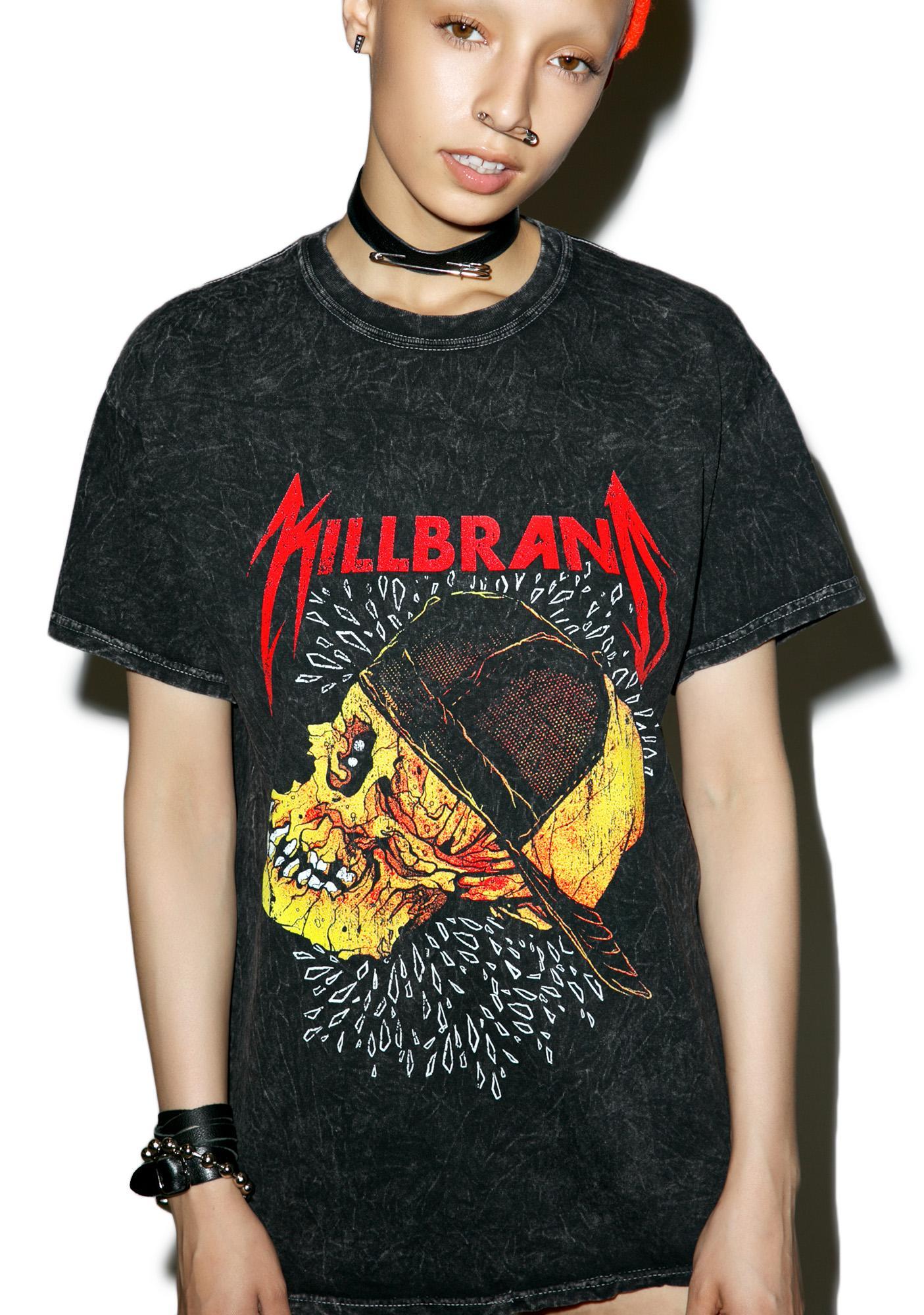 Kill Brand Metal Loose Tee