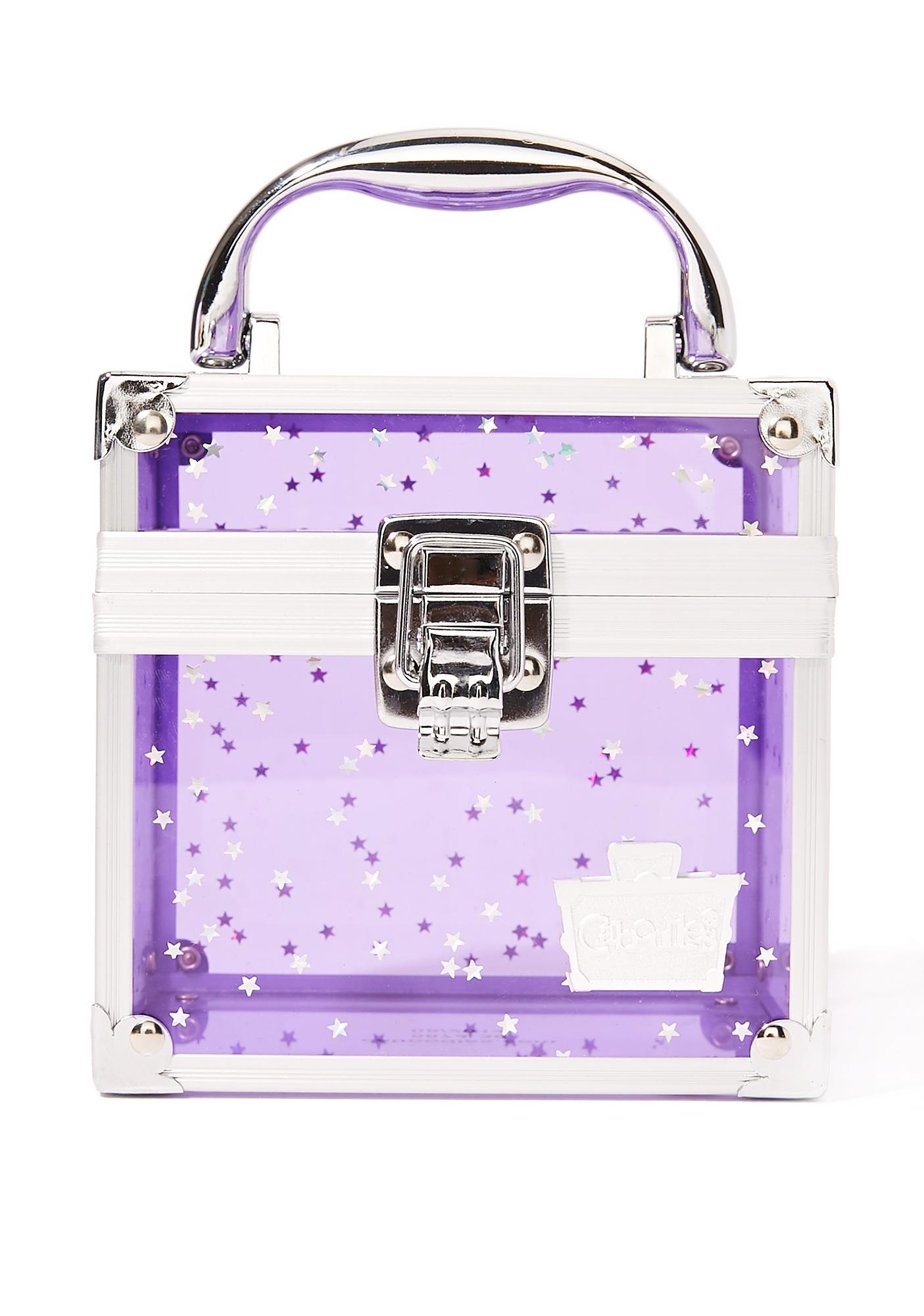 Caboodles Purple Oh La La Clear Makeup Case