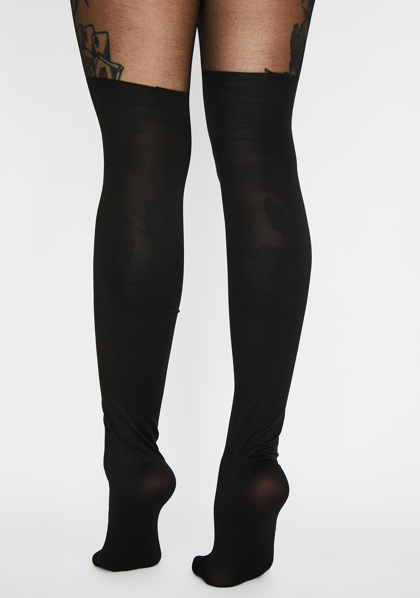 Losing My Religion Sheer Tights