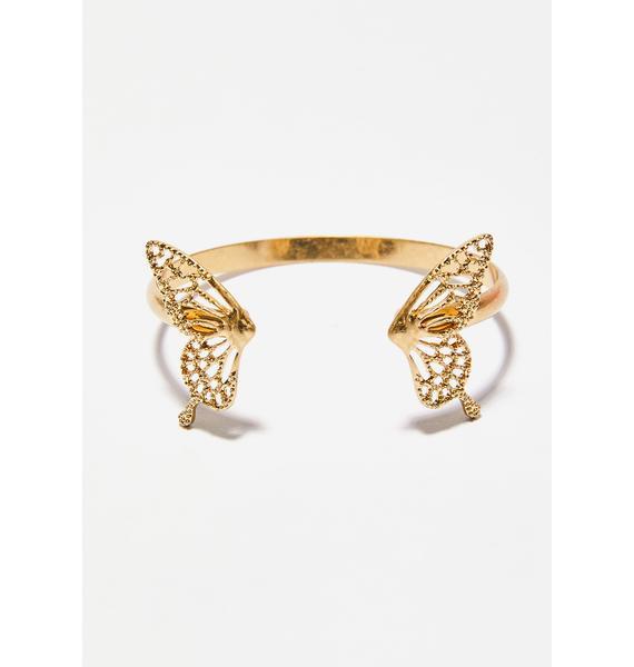Givin' Ya Butterflies Bracelet