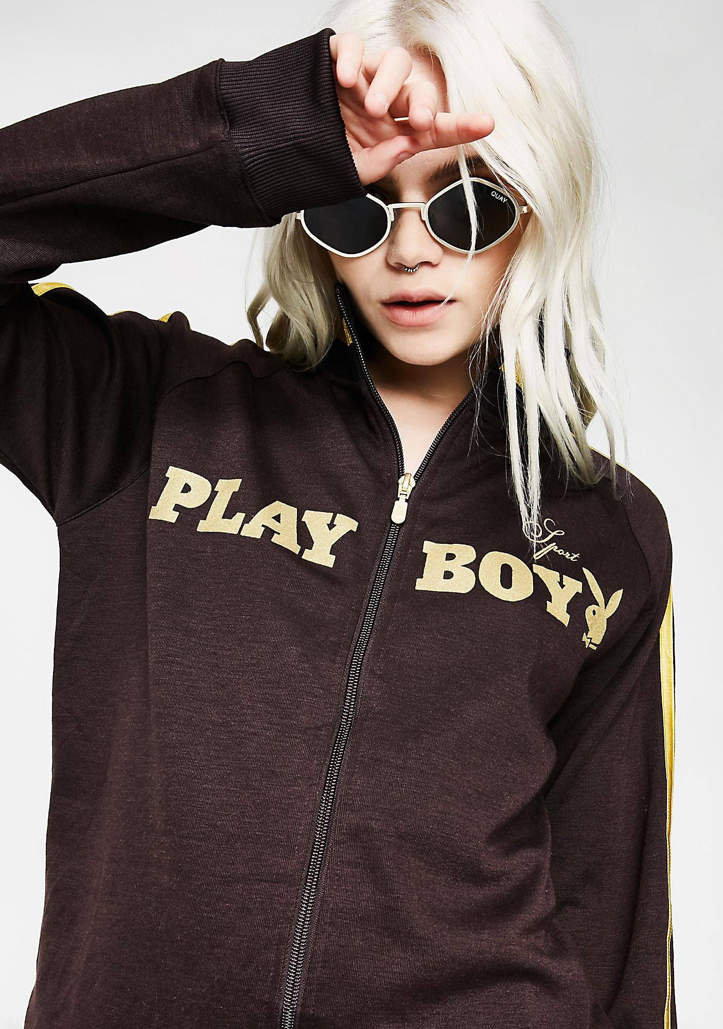 Vintage Playboy Sport Track Jacket