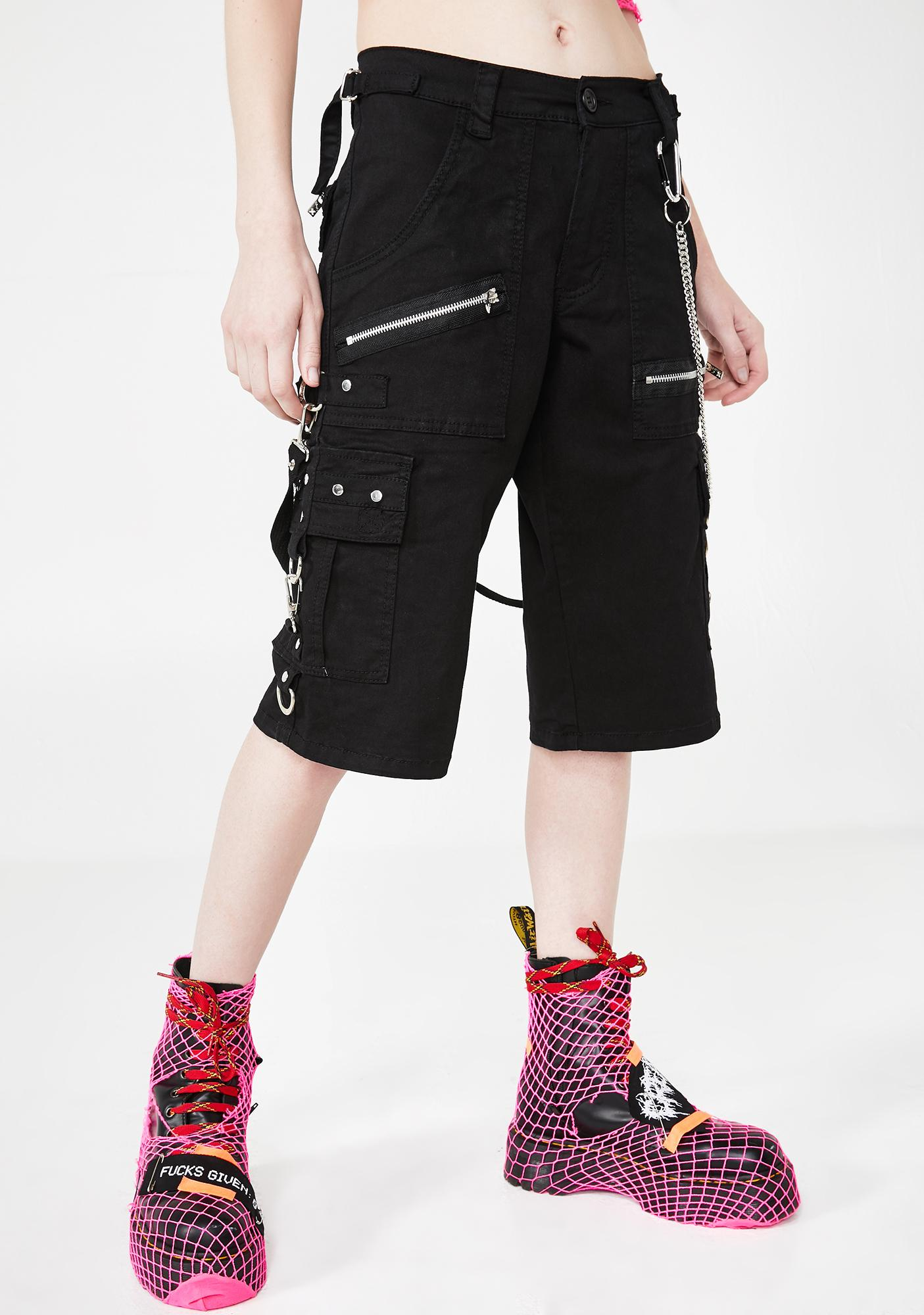 Tripp NYC Punk Rock Shorts