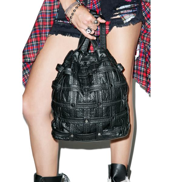 Maze Bucket Backpack