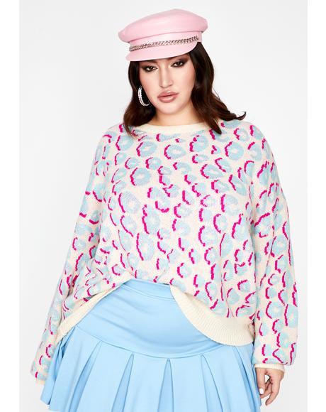 Got Delightful Sass Leopard Sweater
