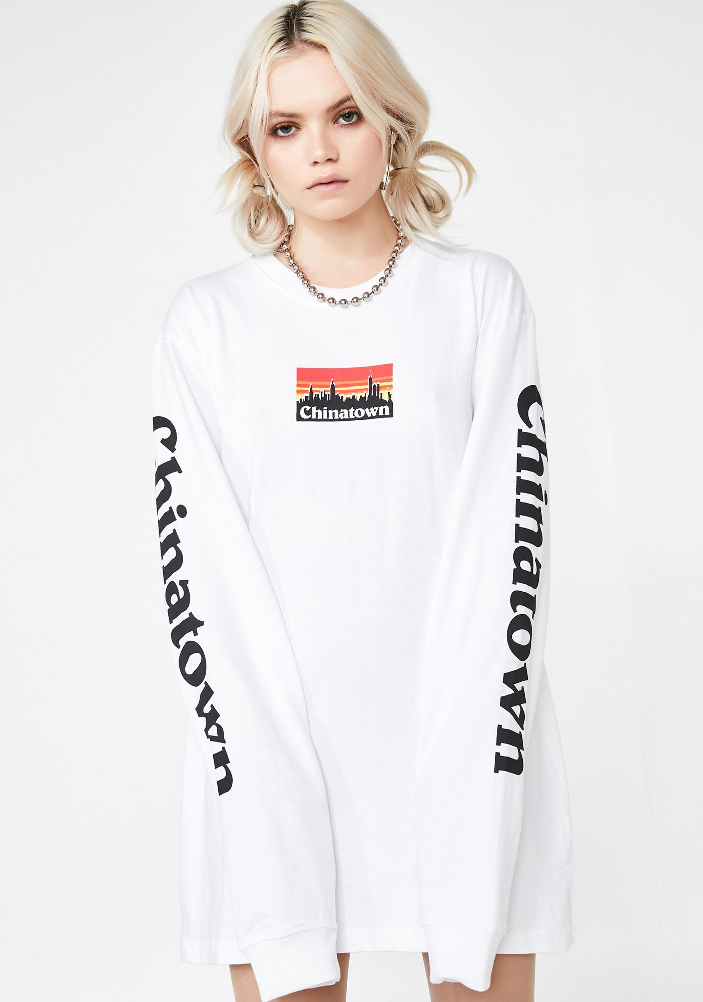 CHINATOWN MARKET Patagucci Long Sleeve Tee
