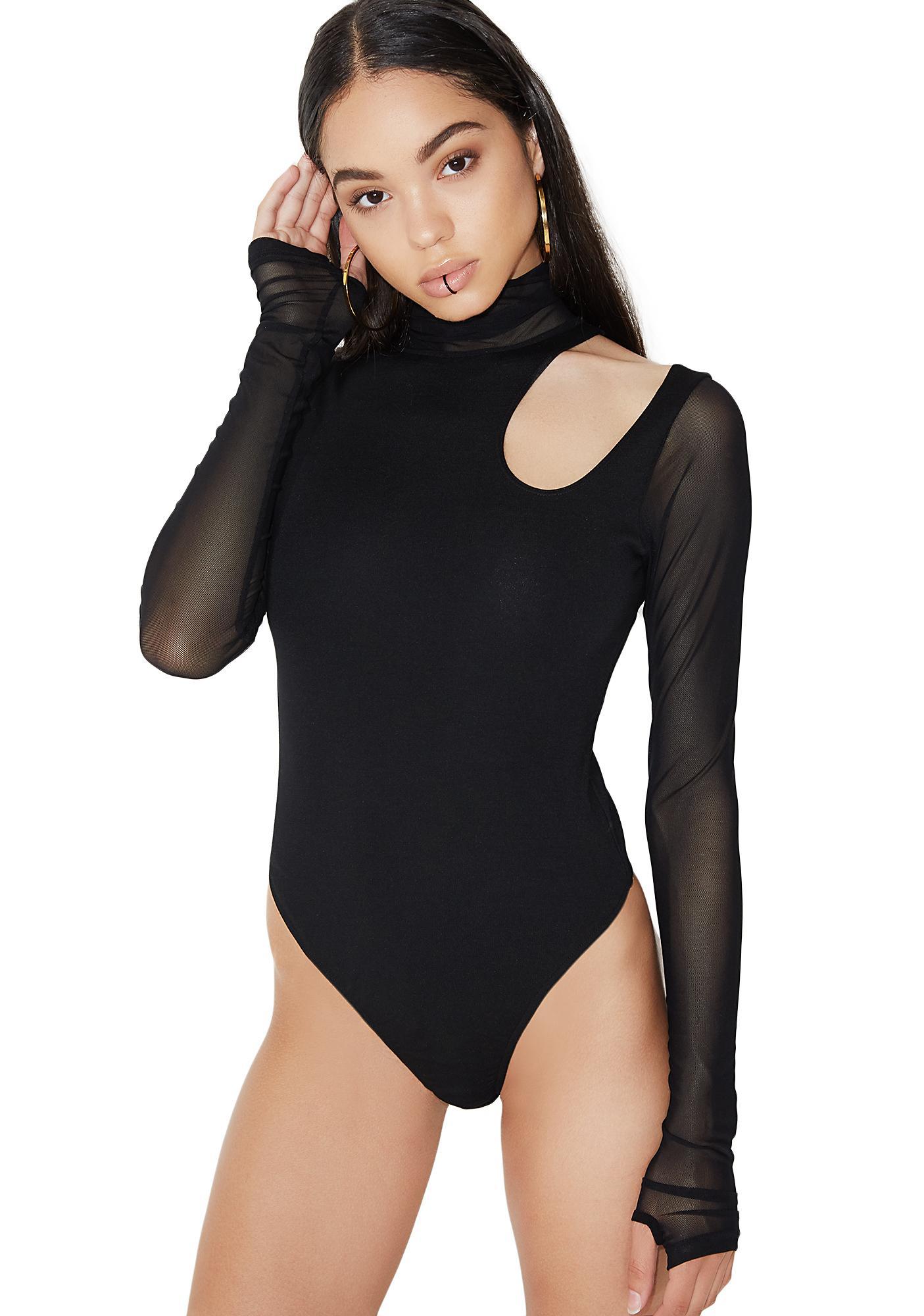 Poster Grl Back Atcha Cut-Out Bodysuit