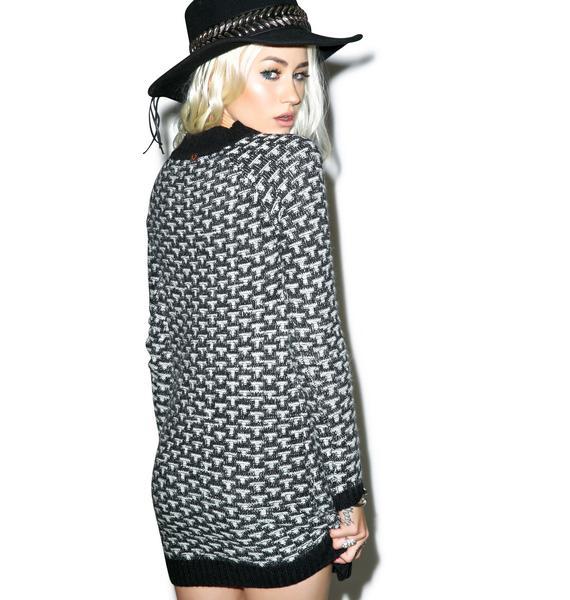 For Love & Lemons Big Sur Sweater Dress