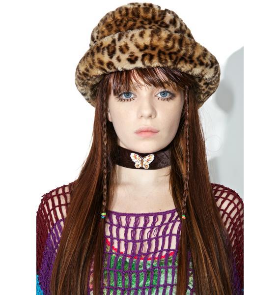 Vintage Leopard Bucket Hat