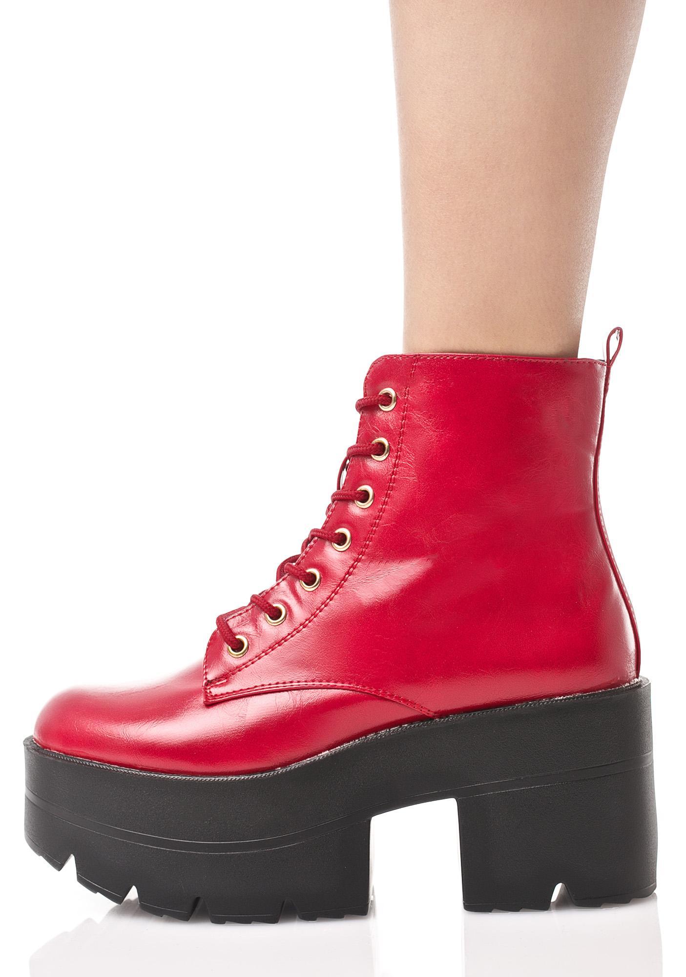 Ruff Ryder Platform Boots