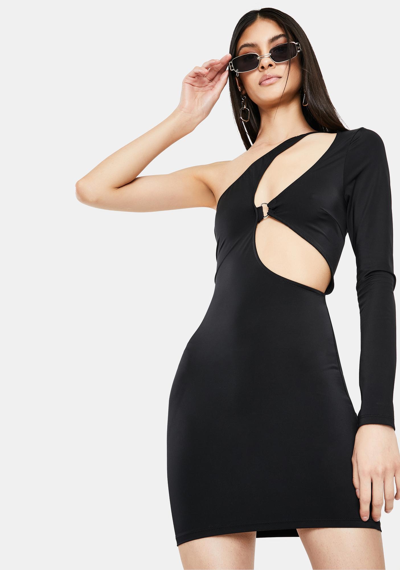 Loves The Spotlight Cut-Out Mini Dress