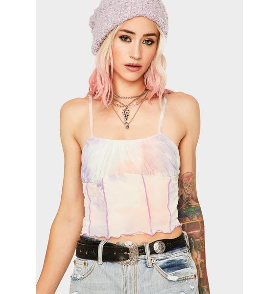 Taupe Heavenly Dilemma Cami Top