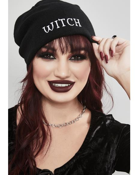 Coven Leader Knit Beanie