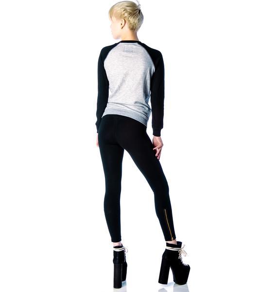 LNA Zipper Leggings