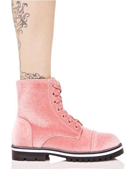 Rose Yr All That Velvet Boots