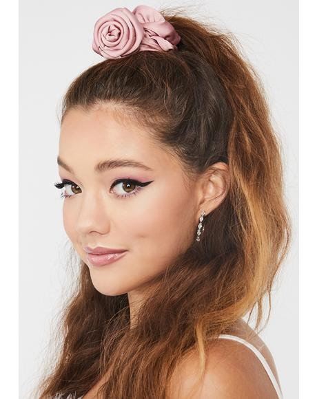 Sweet Beauty Queen Rose Scrunchie
