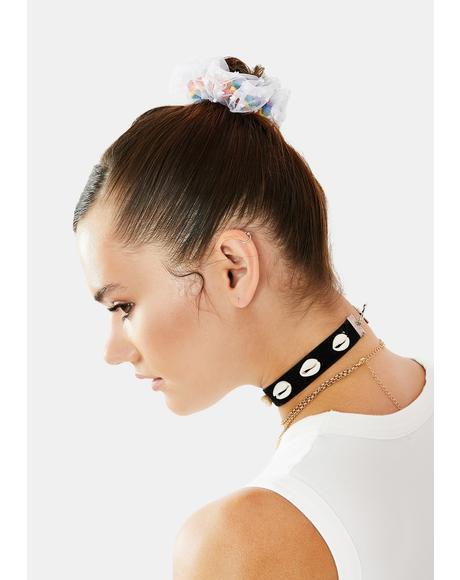 Sweet Reminder Hair Scrunchie