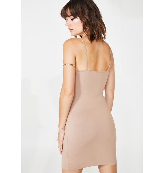 Motel Vecha Cut Out Dress