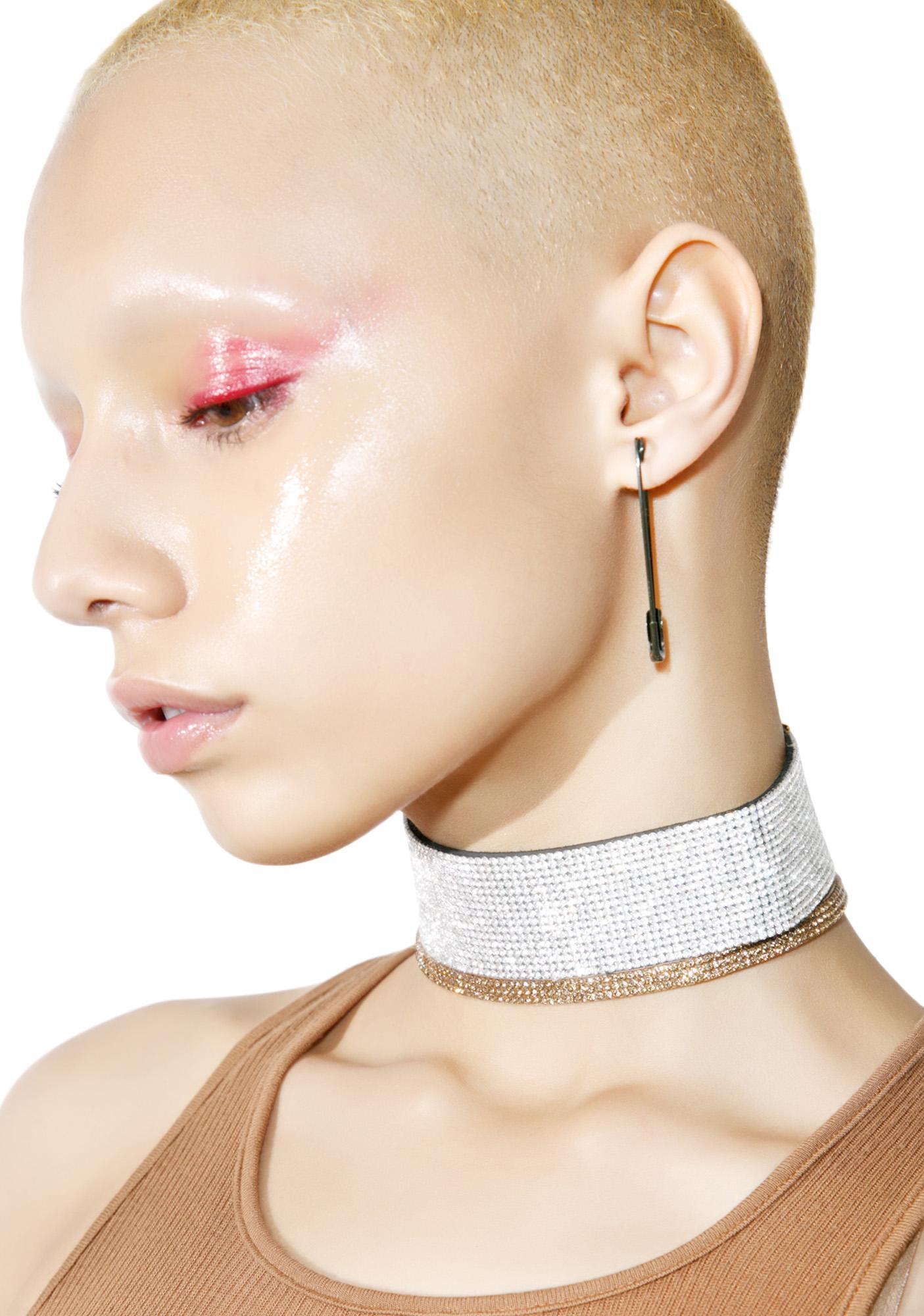 Glamour Crystal Choker Set