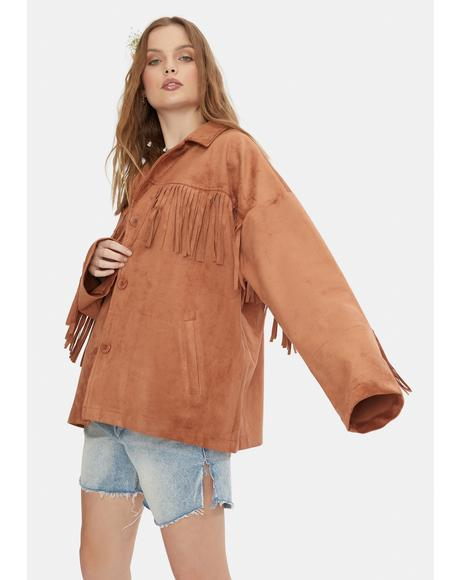 Westworld Fringe Jacket