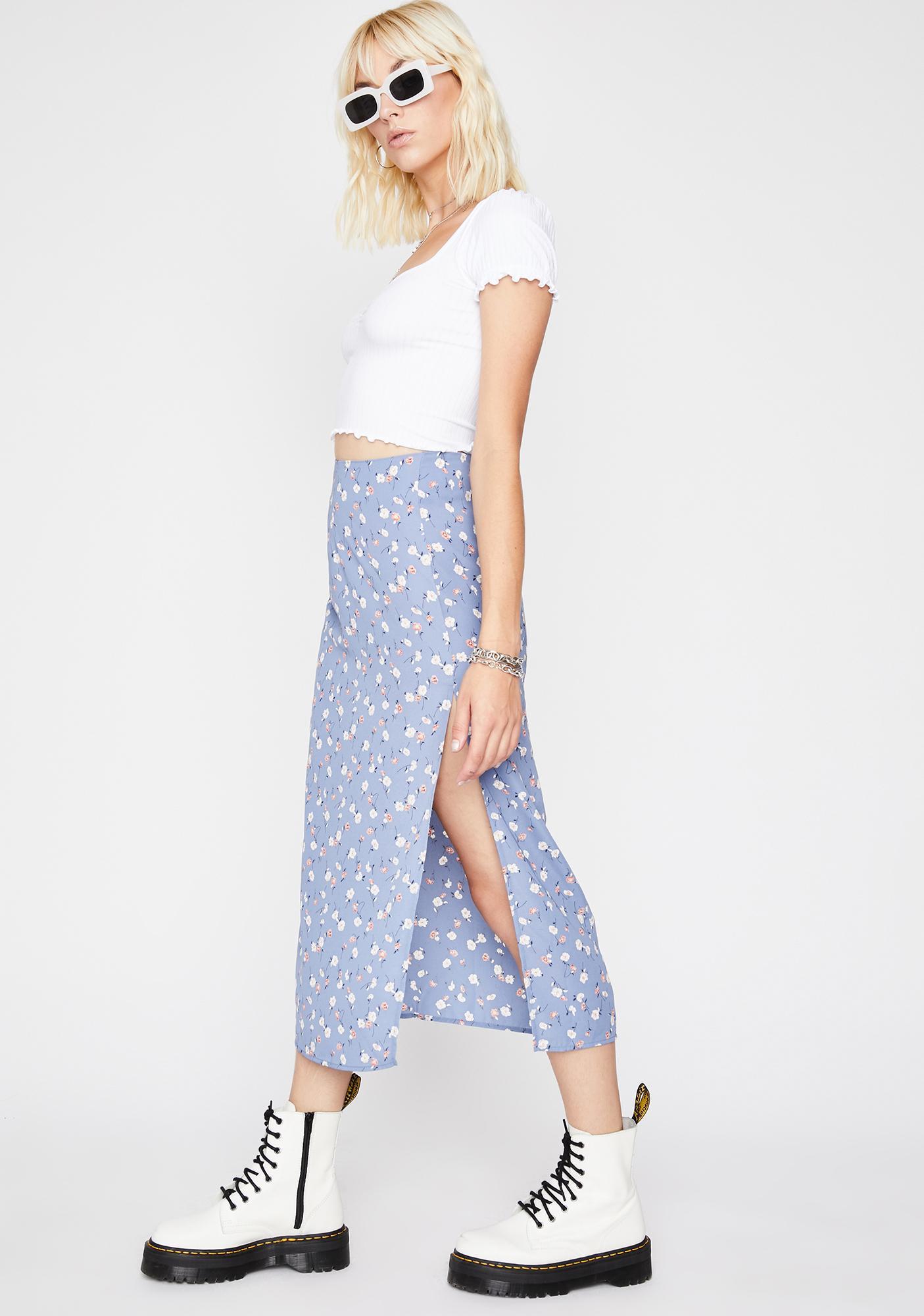 Bouquet Bae Midi Skirt